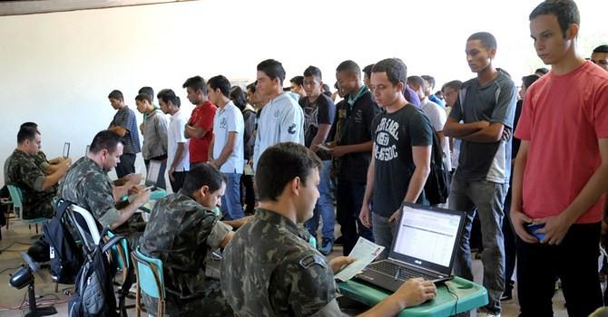 Prazo para alistamento militar começou nesta quarta-feira