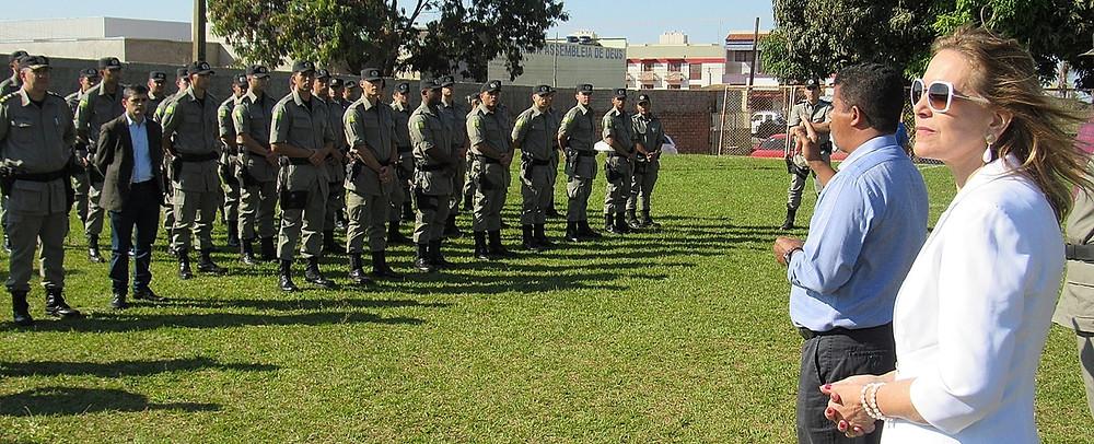 Novos Policiais Militares lotados em Valparaíso se formam e já reforçam a segurança nas ruas