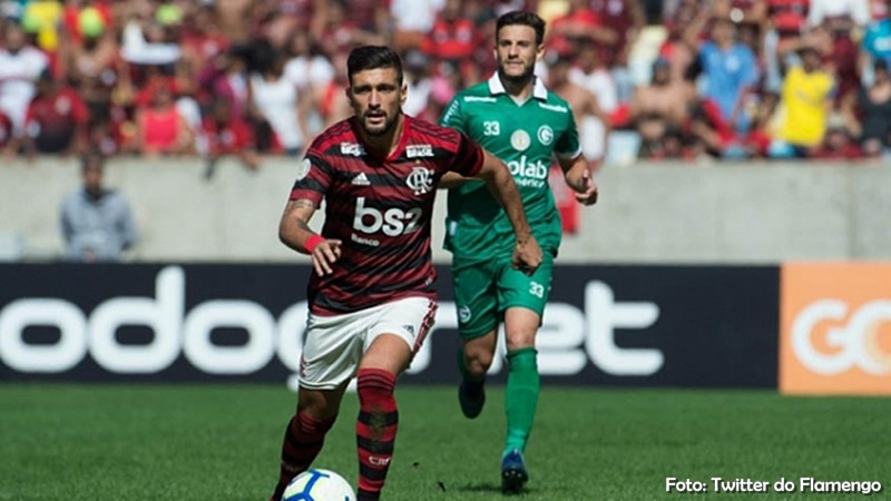 Flamengo massacra o Goiás pelo Brasileirão