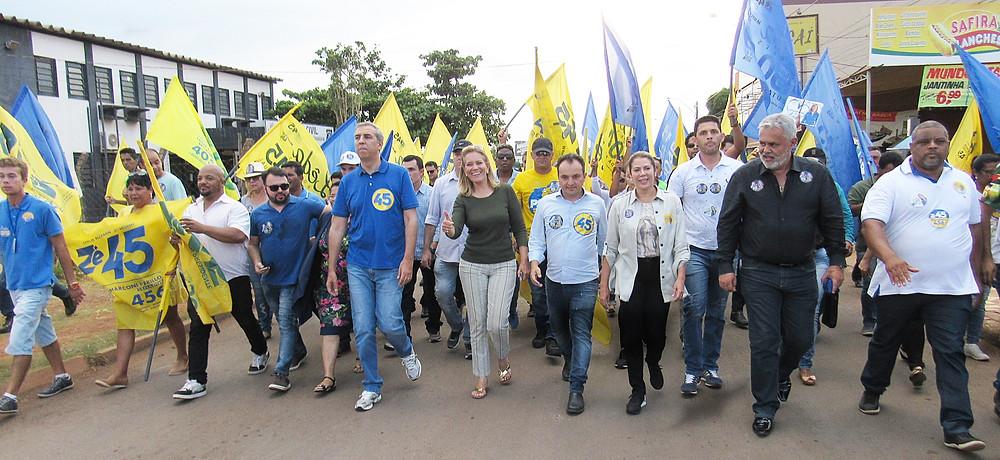 Governador Zé Eliton vem à Valparaíso fazer campanha ao lado de Leda Borges