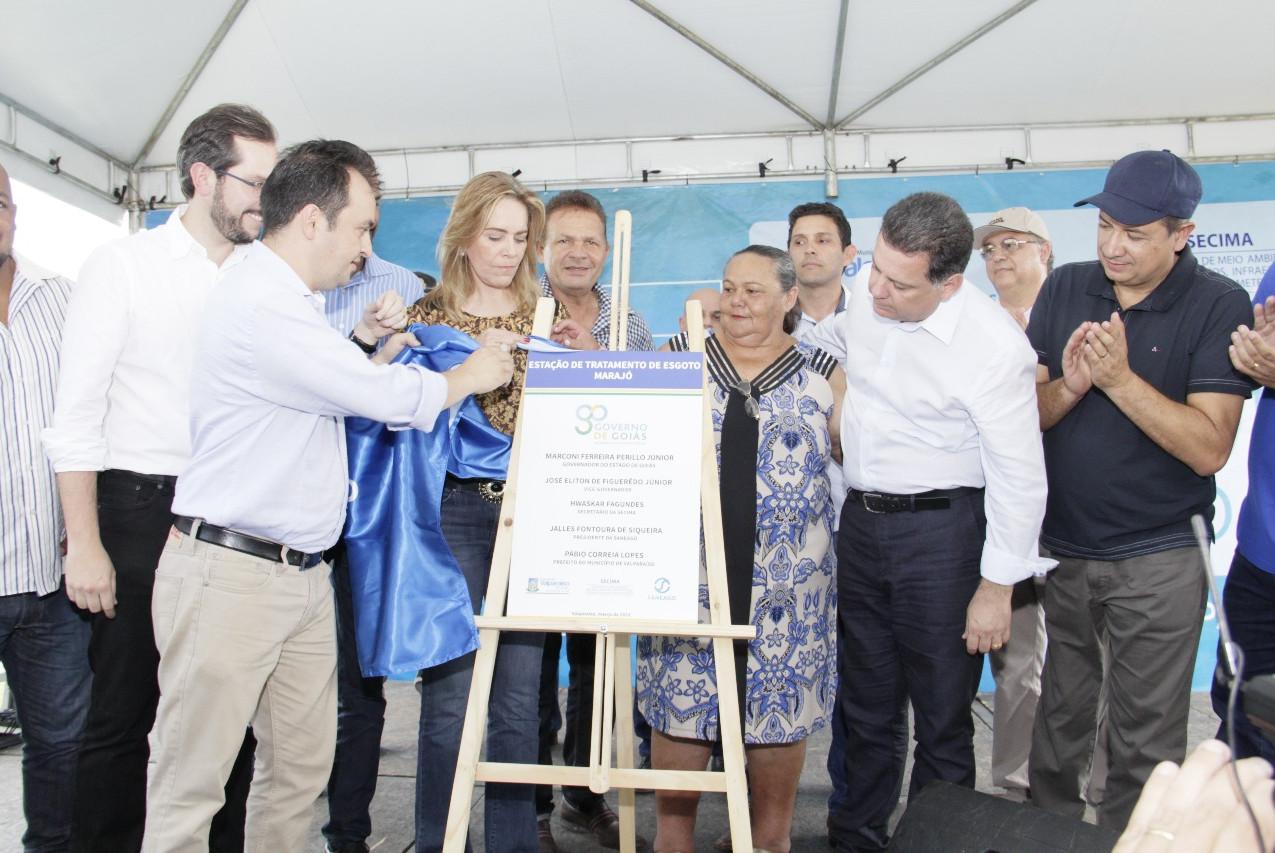 Valparaíso inaugura ETE do Marajó