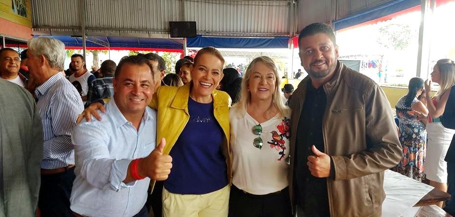 Carlinhos do Mangão sai na frete para enfrentar Sônia Chaves na eleição deste ano em Novo Gama