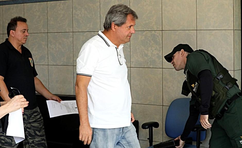 Jayme Rincon, ex-presidente da Agência Goiana de Transportes e Obras, volta a ser preso pela PF