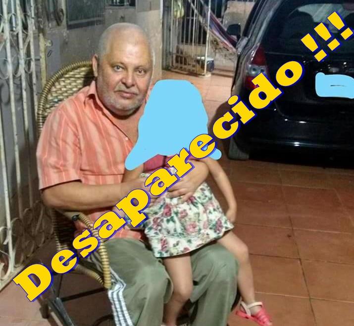 Desaparecido – Família pede ajuda para encontrar Senhor Manoel Carlos