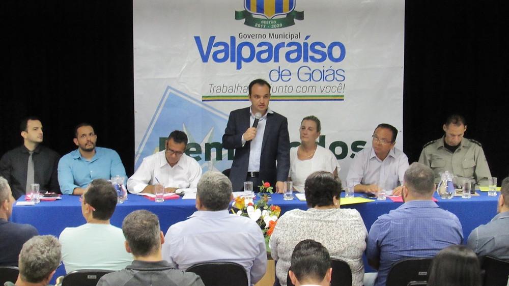 Segurança Pública – Prefeitura de Valparaíso institui o GGIM – Gabinete de Gestão Integrada Municipal