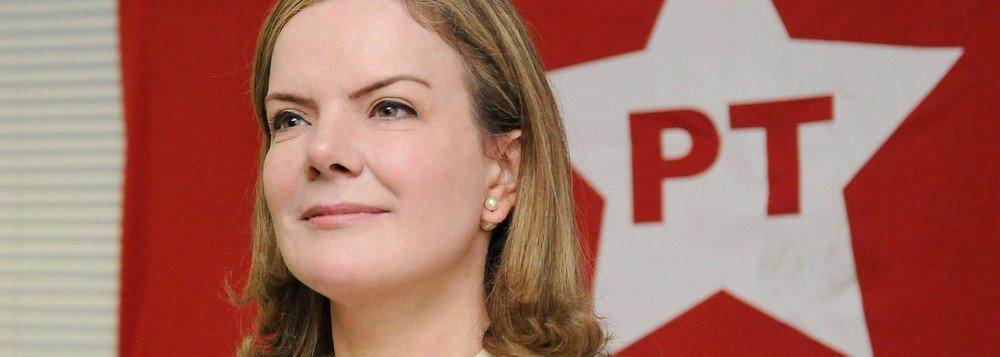 PGR pede condenação da senadora, presidente nacional do PT, Gleisi Hoffmann