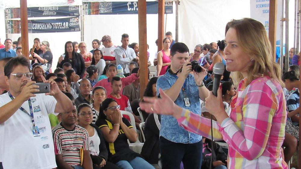 Deputada Leda Borges traz programa Ação Cidadã para Valparaíso mais uma vez