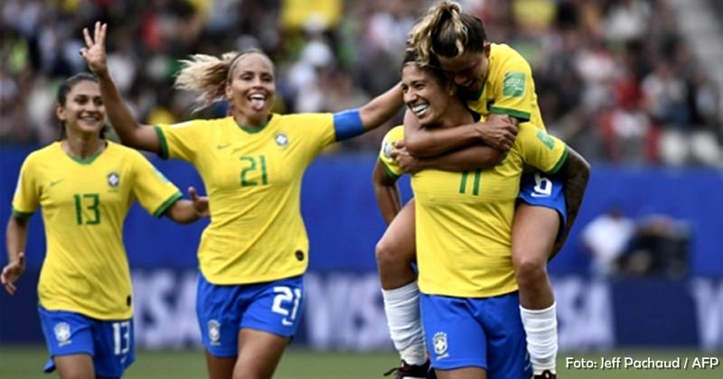 Mesmo sem Marta, Brasil vence na estreia da Copa do Mundo de Futebol Feminino