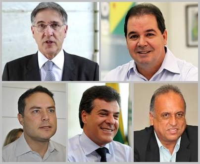Cinco governadores estão na lista de Janot