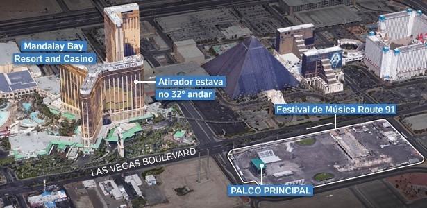 EI reivindica autoria do atentado em Las Vegas, mas FBI não confirma vínculo