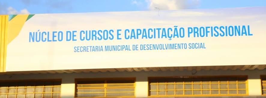 Valparaíso 23 anos – Governo Municipal inaugura Núcleo de Cursos e Capacitação Profissional