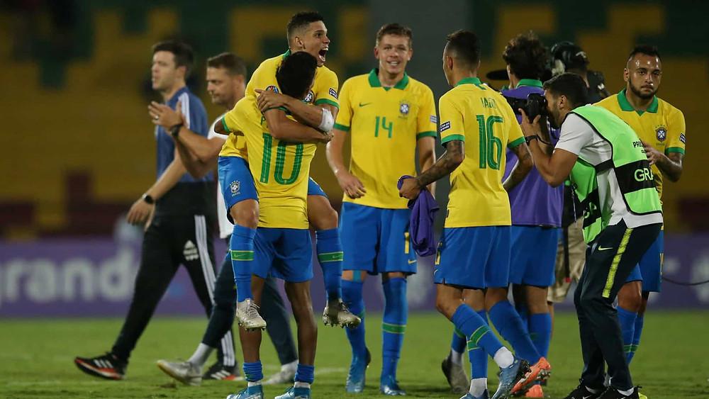 Brasil vence a Argentina e vai à Olimpíada de Tóquio