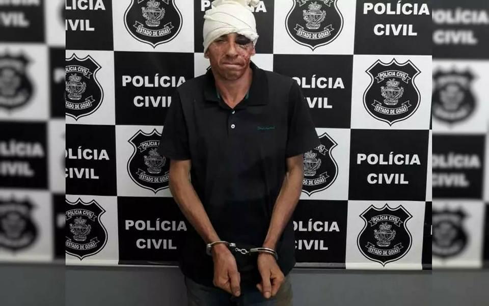 Suspeito de roubar pessoas em ponto de ônibus cai em ribanceira durante fuga em Novo Gama