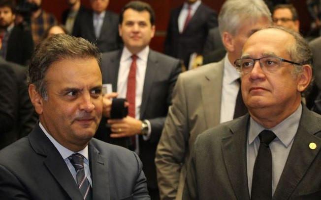 PF encontra 46 ligações via WhatsApp entre Aécio Neves e Gilmar Mendes de fevereiro a maio