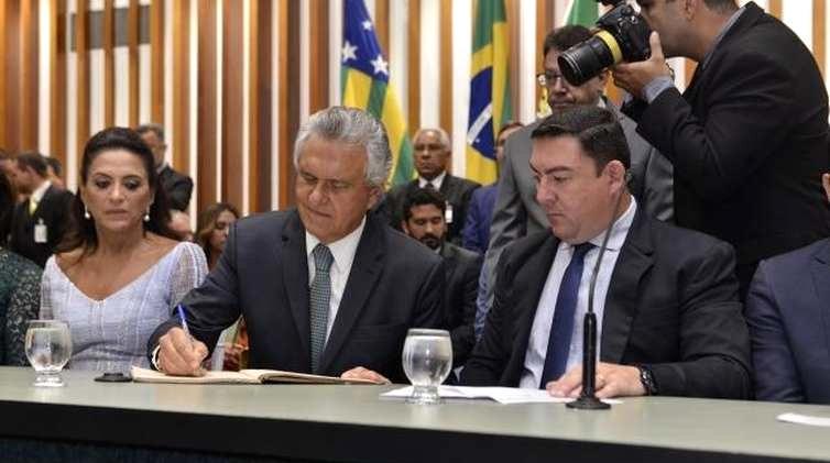 Caiado é empossado como Governador do Estado de Goiás