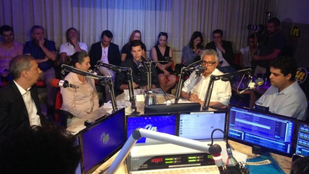 Primeiro debate entre os candidatos a Governador de Goiás acabou focado no atual governador