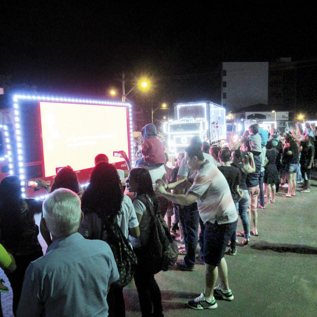 Natal Coca-cola em Valparaíso