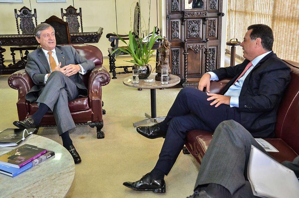 Governador Marconi Perillo se encontra com Ministro da Justiça um dia depois de critica-lo