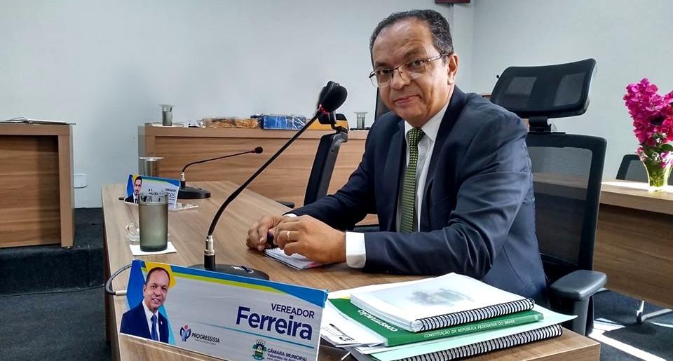 Vereador Ferreira é o mais recente pré-candidato a prefeito confirmado em Valparaíso