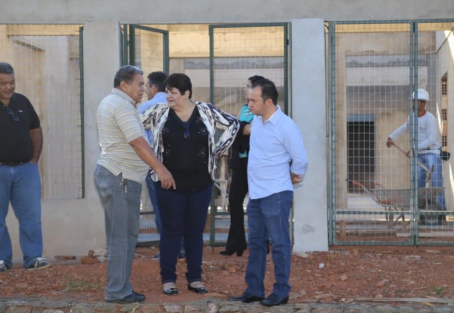 Prefeito Pábio Mossoró retoma a construção de cinco creches iniciadas por Leda Borges
