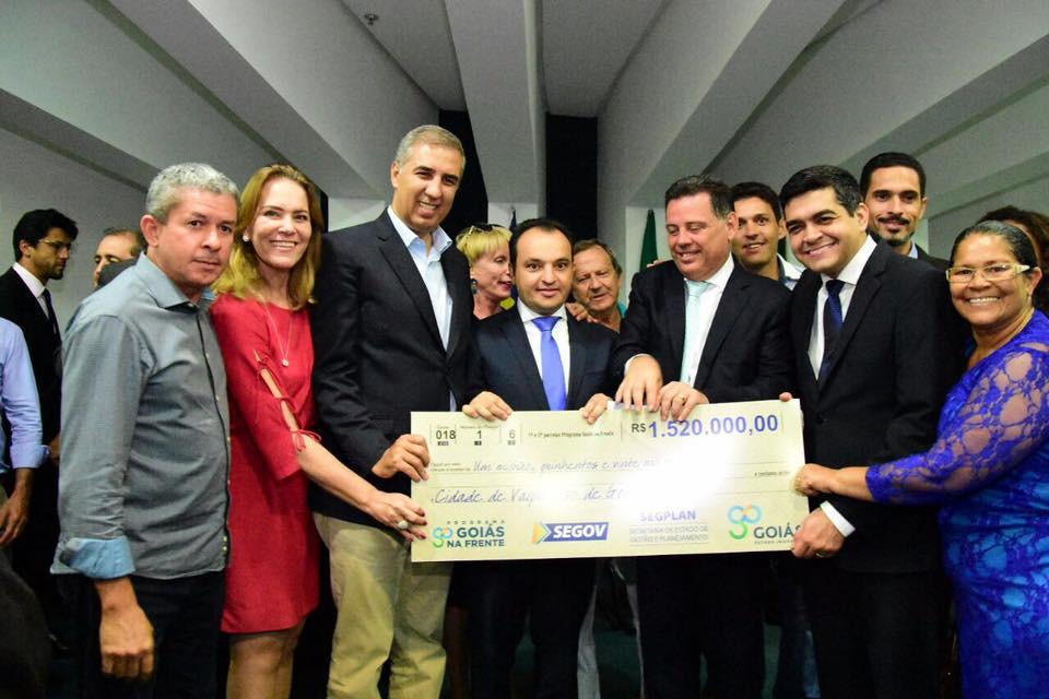 Valparaíso recebe do governo estadual as duas primeiras parcelas do convênio de R$ 7,6Milhõe para recuperação asfáltica