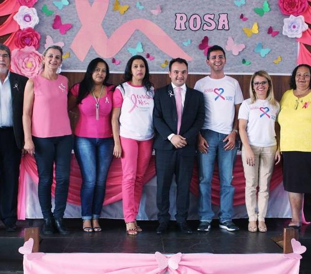 Outubro Rosa em Valparaíso de Goiás