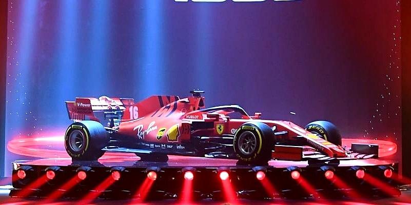 Sem novidades aparentes, Ferrari apresenta o carro para a temporada 2020 de F1