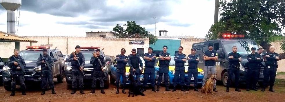 Guarda Municipal de Valparaíso auxilia na apreensão de celulares dentro de presídio