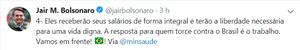Bolsonaro anuncia preenchimento de todas as vagas do Mais Médicos