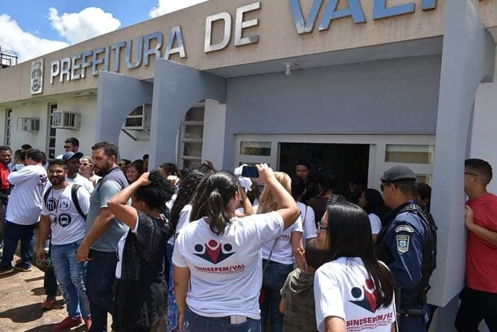 O Sindicato dos Servidores Públicos de Valparaíso e sua saga de reivindicações Fake