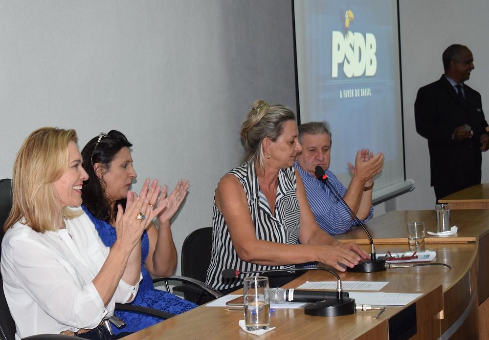 Valparaíso – Leda Borges conduz uma renovação no comando do PSDB local