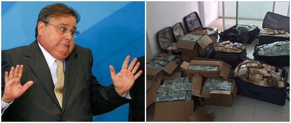 PF encontra digitais de Geddel em apartamento das malas de dinheiro