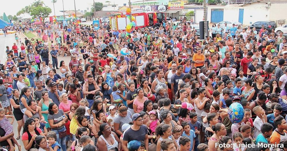Com o apoio da prefeitura de Valparaíso, Projeto Gasparito Promove Mega Festa para as crianças