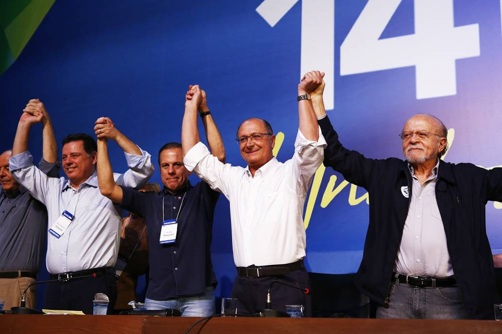 PSDB elege Geraldo Alckmin presidente nacional da legenda