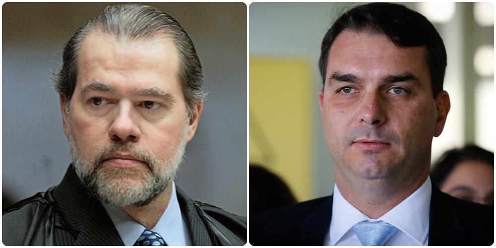 Flávio Bolsonaro é beneficiado com Decisão de Dias Toffoli