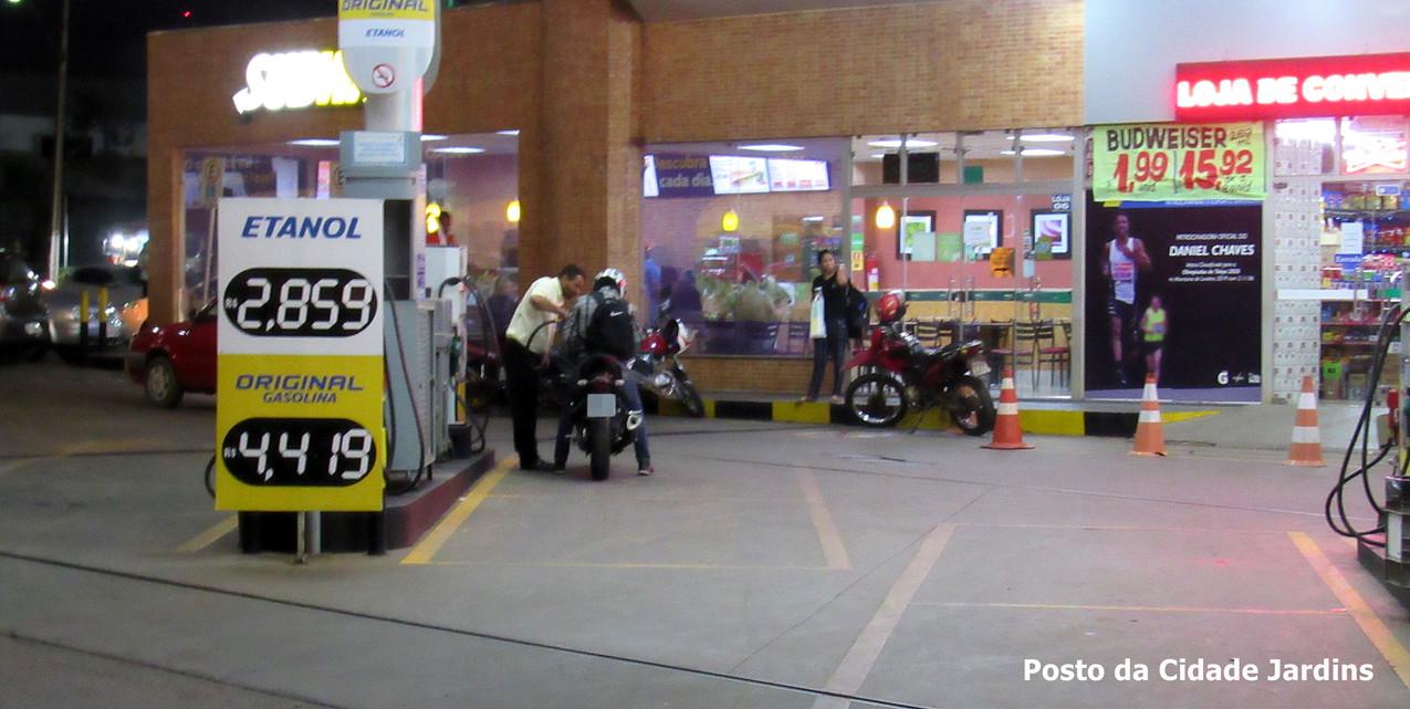 Aumento da Gasolina em Valparaíso