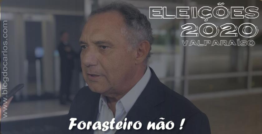 Partido de Ronaldo Caiado em Valparaíso ofende a população ao tentar importar candidato a prefeito rejeitado em sua verdadeira cidade