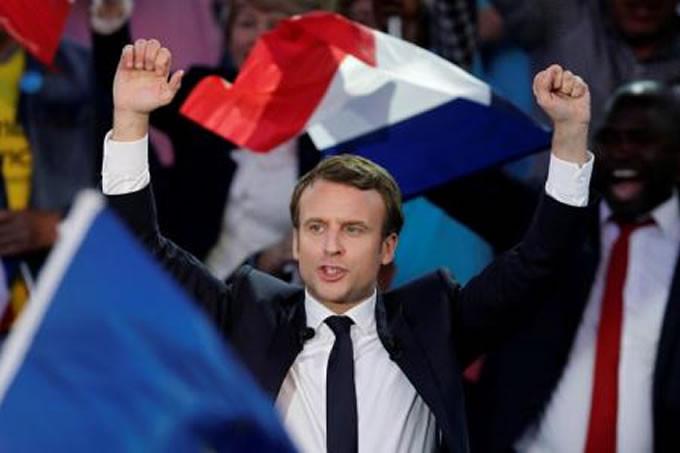Emmanuel Macron é eleito na França