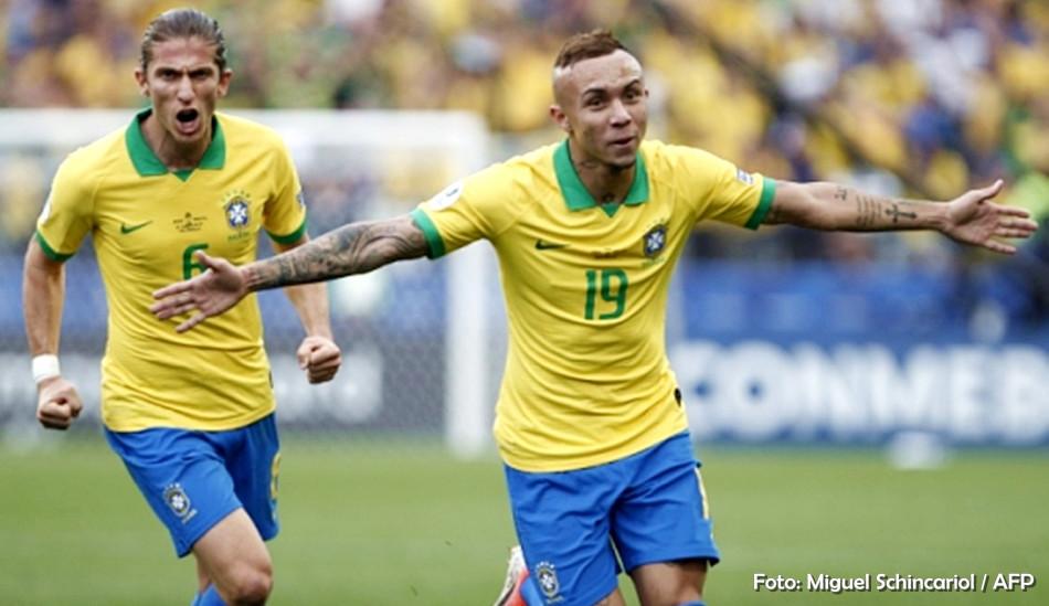 Brasil goelei o Peru e avança para as quartas de final da Copa América