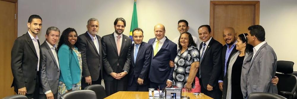 Prefeito e vereadores de Valparaíso vão ao Ministério das Cidades na busca de recursos para a cidade e soluções para o Setor de Chácaras Anhanguera