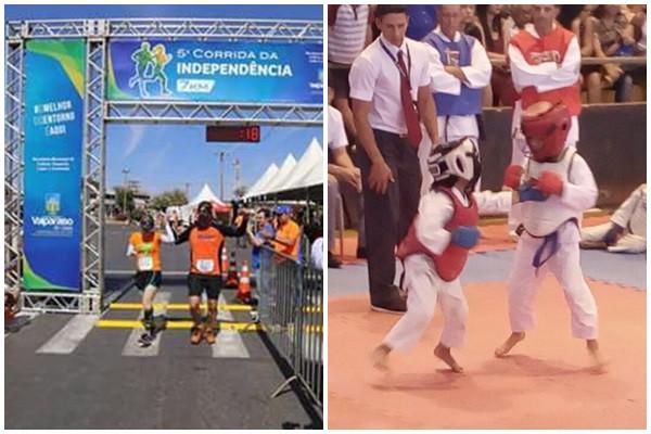 Valparaíso – Cidade tem mais um dia de grandes eventos esportivos