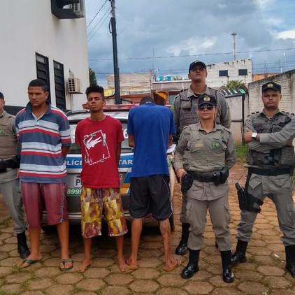 Assaltantes são presos em Valparaíso