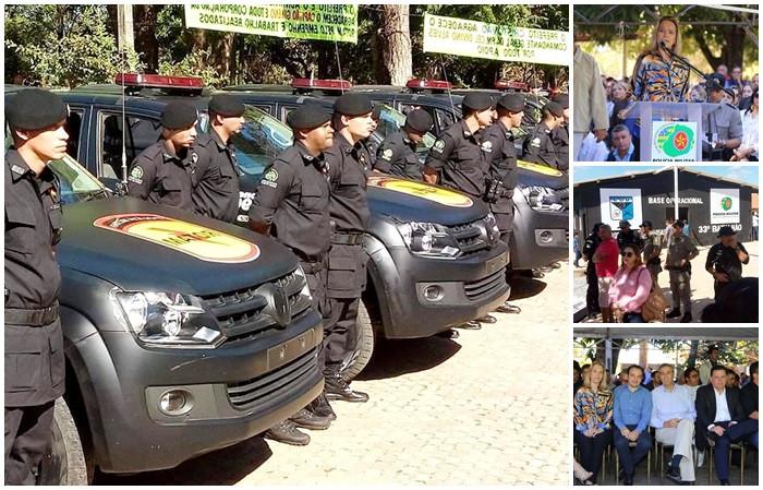 Segurança Pública – Governo de Goiás inaugura batalhão da ROTAM e entrega Base Operacional do COD no entorno