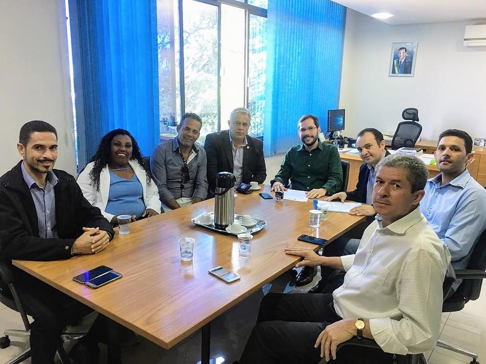 Prefeito Pábio Mossoró vai à Goiânia em busca de mais recursos e serviços para a cidade