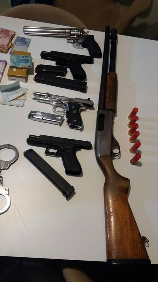 Tentativa de assalto em Caldas Novas termina com 3 policiais baleados e 5 bandidos mortos