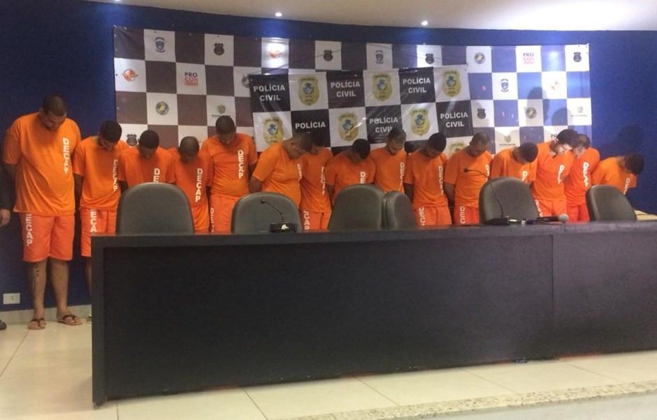 Polícia Civil de Goiás prende membros do PCC no estado