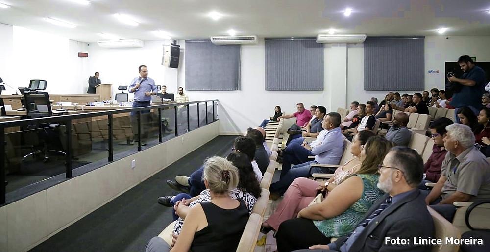 Prefeito Pábio Mossoró conduz audiência pública que define a Lei Orçamentária de Valparaíso em 2020