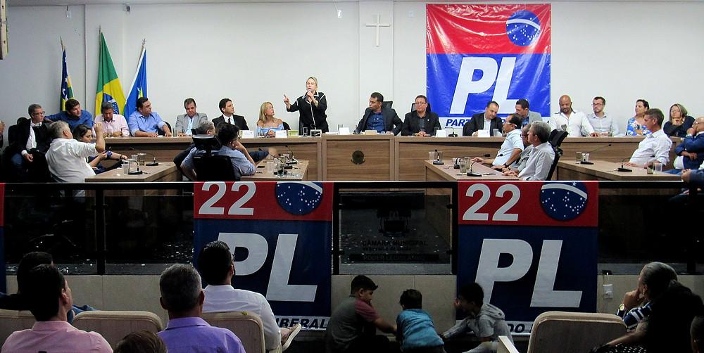 Posse de novo diretório municipal do PL em Valparaíso revela um gigante para as eleições 2020