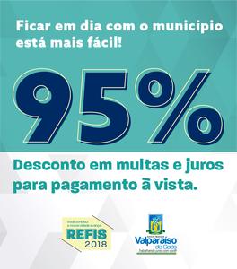 Governo de Valparaíso de Goiás lança Programa de Recuperação Fiscal - REFIS