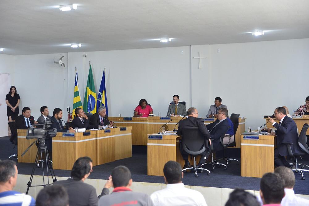 Valparaíso – Na volta do vereador Elvis Santos, Câmara Municipal tem sessão cautelosa